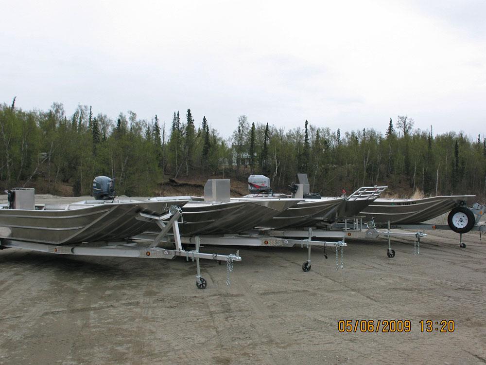 Boat Trailer Wiring >> Alaska Boat Builders, Custom Welded River Boats, Greatland Boats