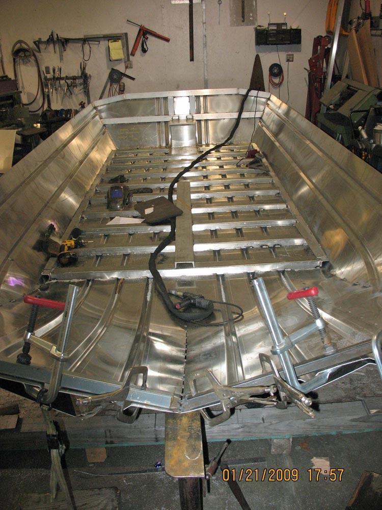 Custom Welded River Boats By Greatland Welding Alaska on Wiring For Boats