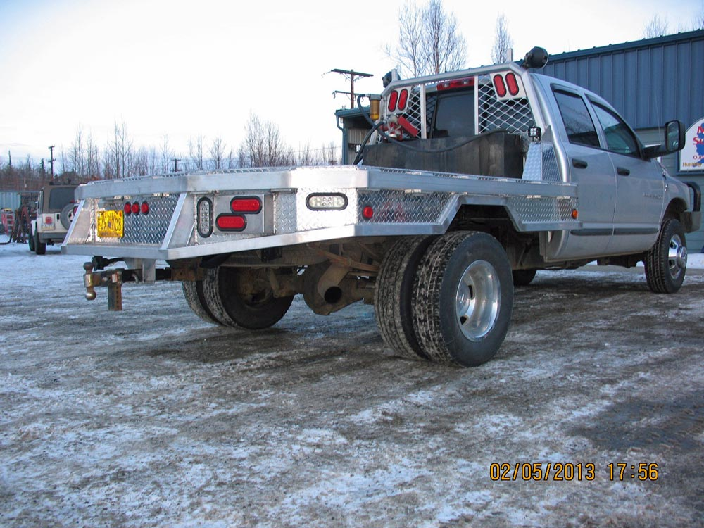 Custom Fabrication Pick Up Truck Flat Bed 1